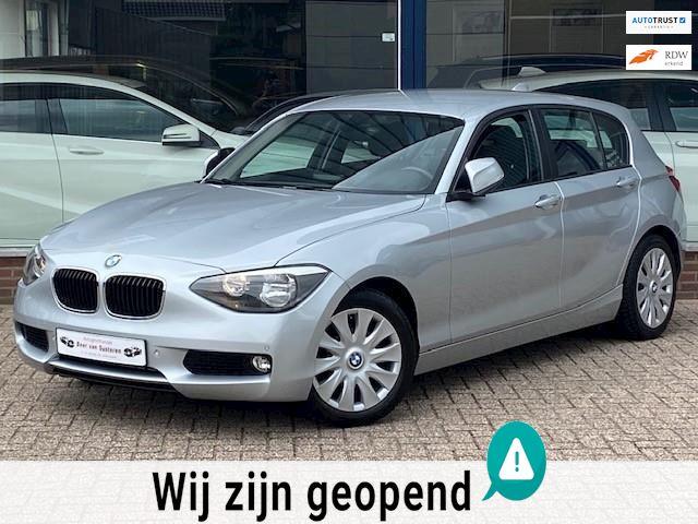 BMW 1-serie 116i Business 5 deurs! Airco ECC/Cruise/PDC V+A/Stoelverwarming/MTF-stuur/Start-stop! 1e eigenaar/Topstaat!