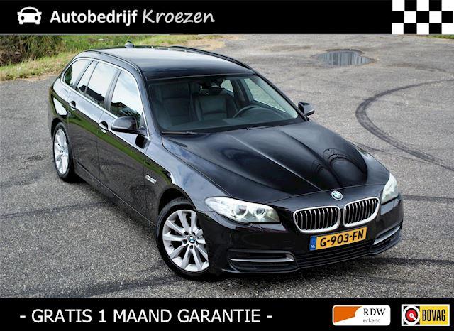 BMW 5-serie Touring 520d * Leder * Navigatie * Automaat *