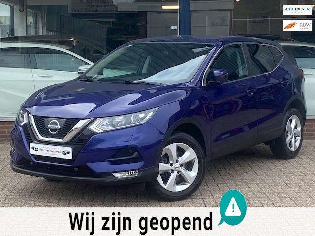 Nissan Qashqai 1.2 Acenta! Navigatie/Camera/Cruise control/LED/PDC/Stoelverwarming! 1e eigenaar/Dealer OH/Nieuwstaat!