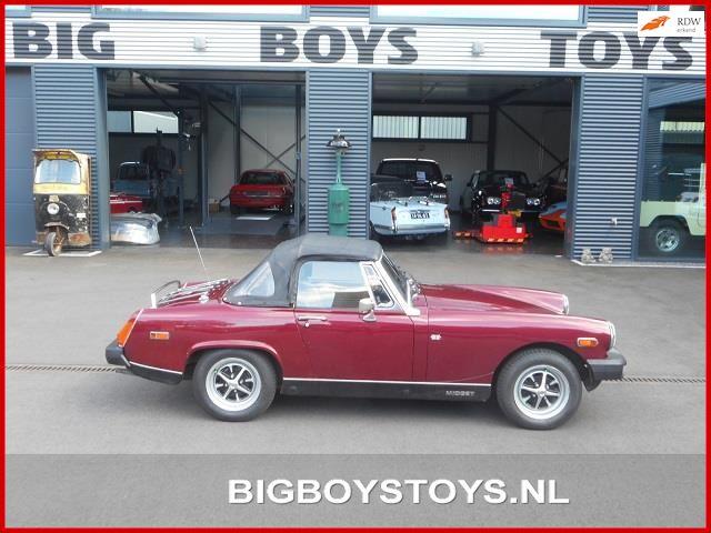 MG Midget occasion - Big Boys Toys B.V.