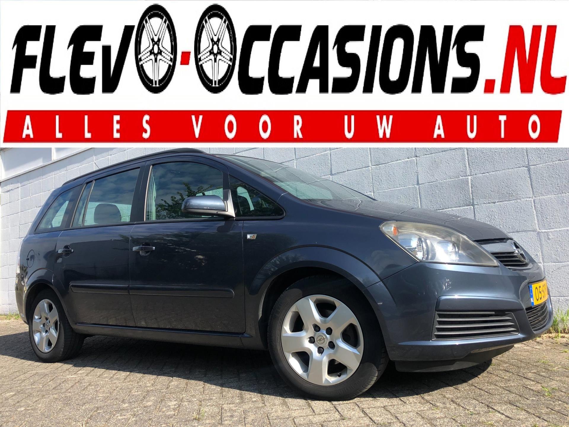 Opel Zafira occasion - Flevo Occasions