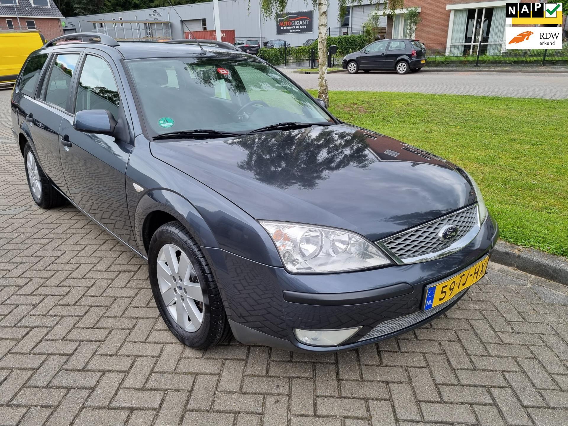 Ford Mondeo Wagon occasion - v.d. Weg Auto's