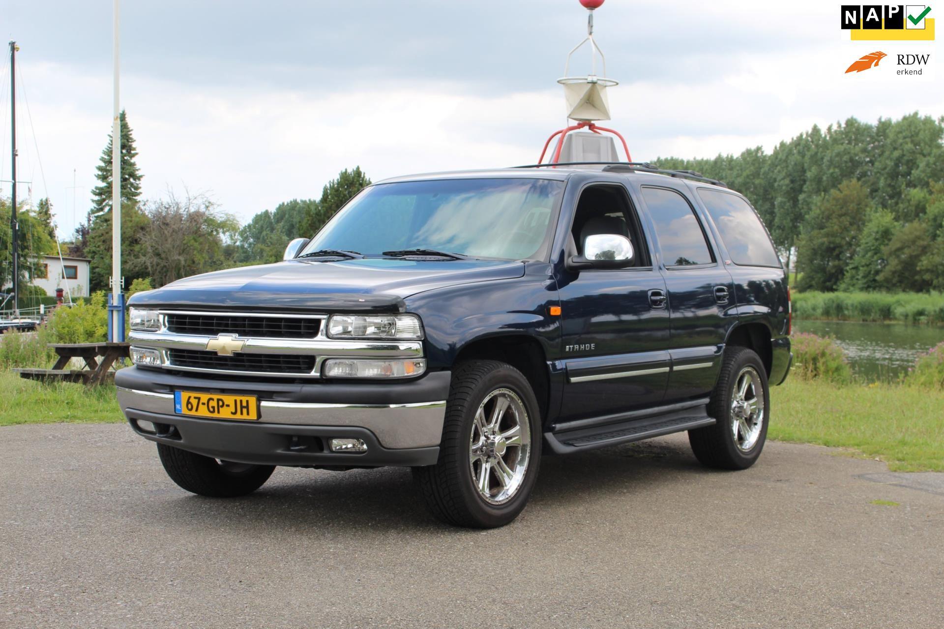 Chevrolet USA Tahoe occasion - Van Vliet Auto's