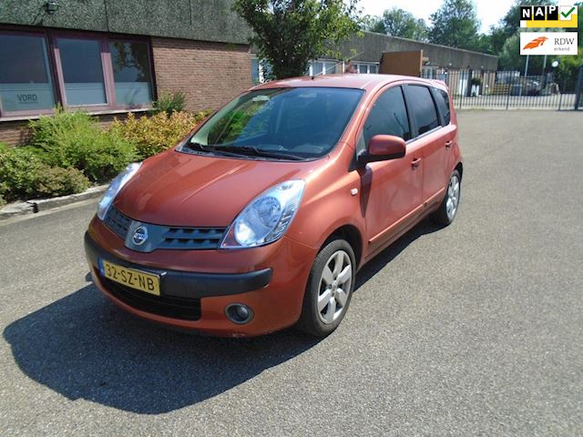 Nissan Note 1.6 First Note Airco Boekjes Nap
