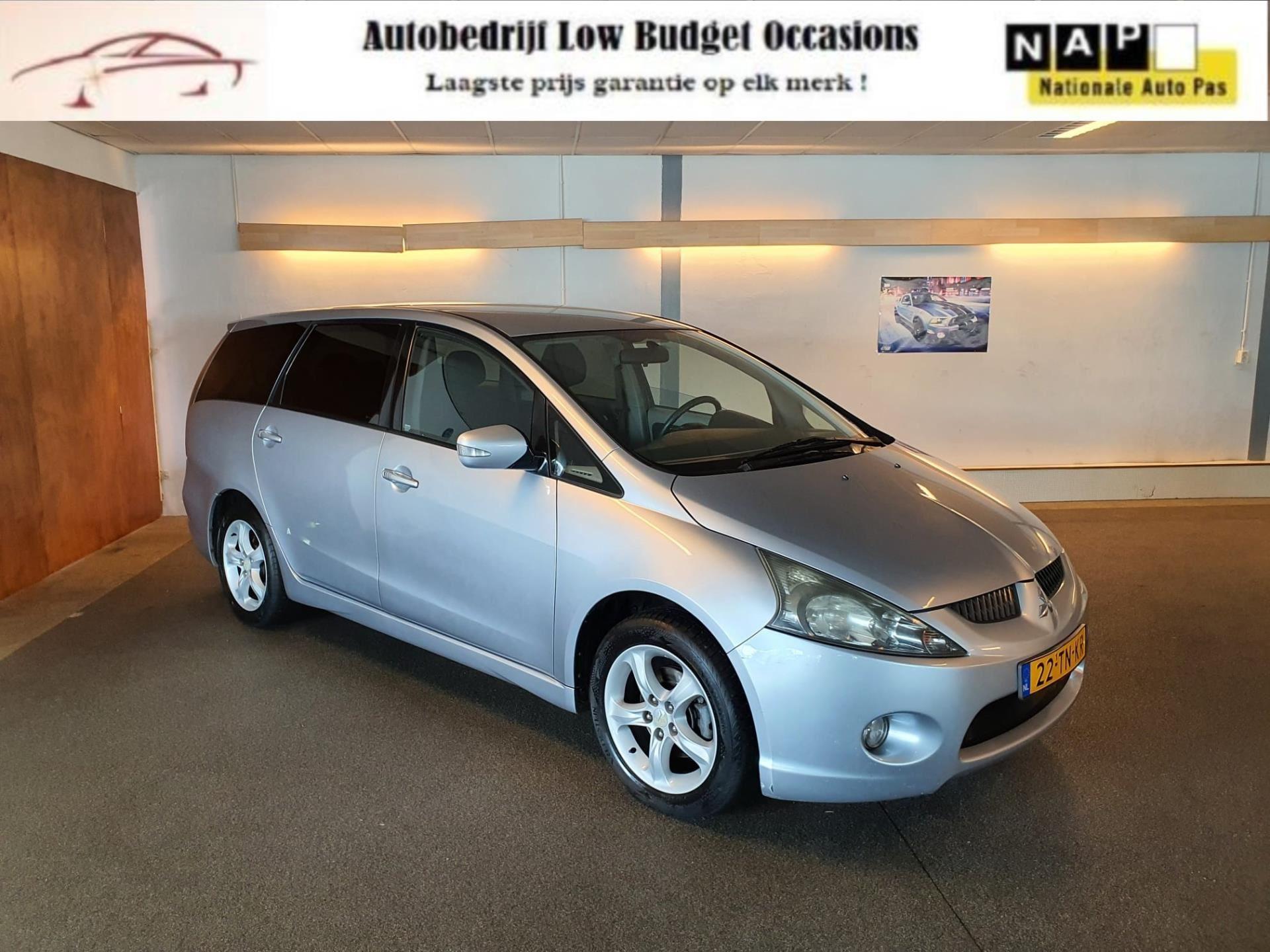 Mitsubishi Grandis occasion - Low Budget Occasions