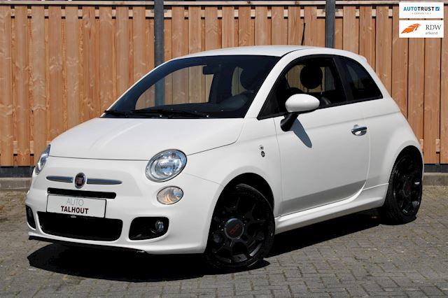 Fiat 500 1.2 500S |AUX|AIRCO|ABARTH LOOK|LEER|GOED ONDERHOUDEN|NIEUWE APK