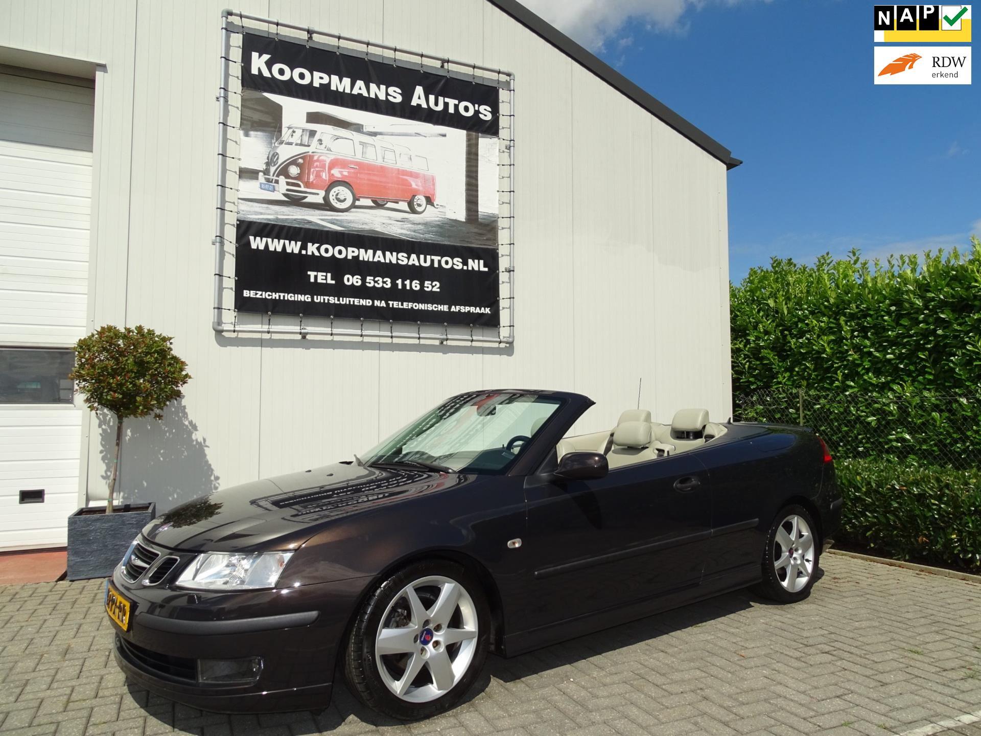Saab 9-3 Cabrio occasion - Koopmans Auto's
