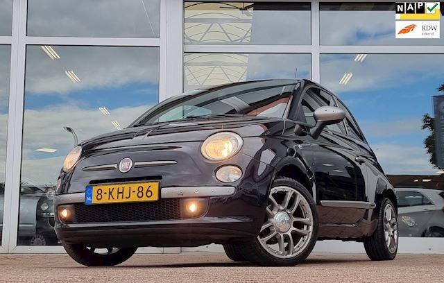 Fiat 500 1.2i (benzine) Diesel Clima Trekhaak Premium Audio