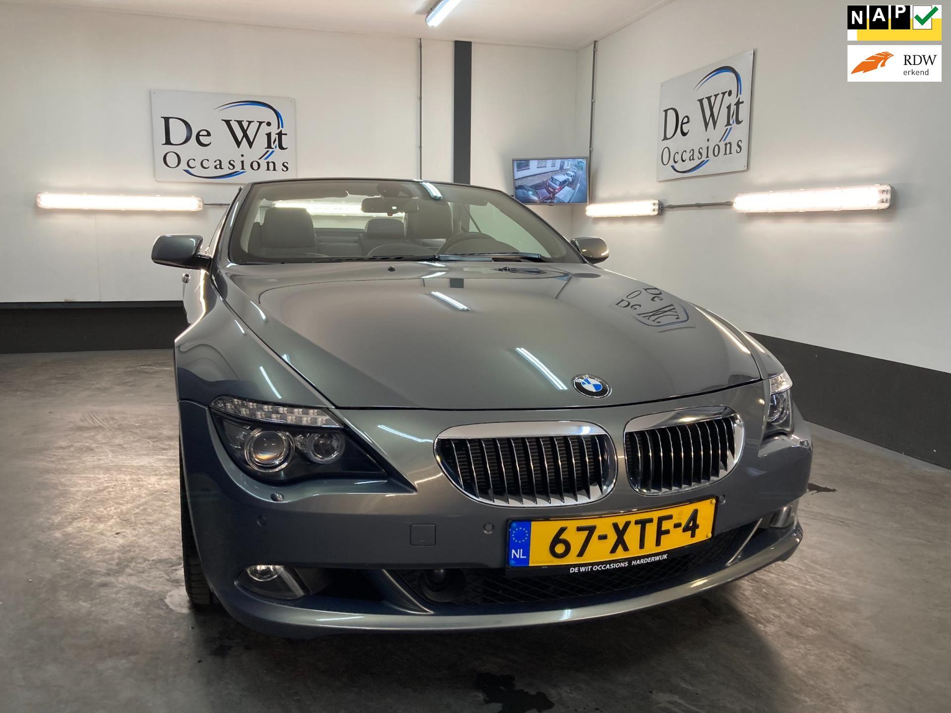 BMW 6-serie Cabrio occasion - De Wit Occasions