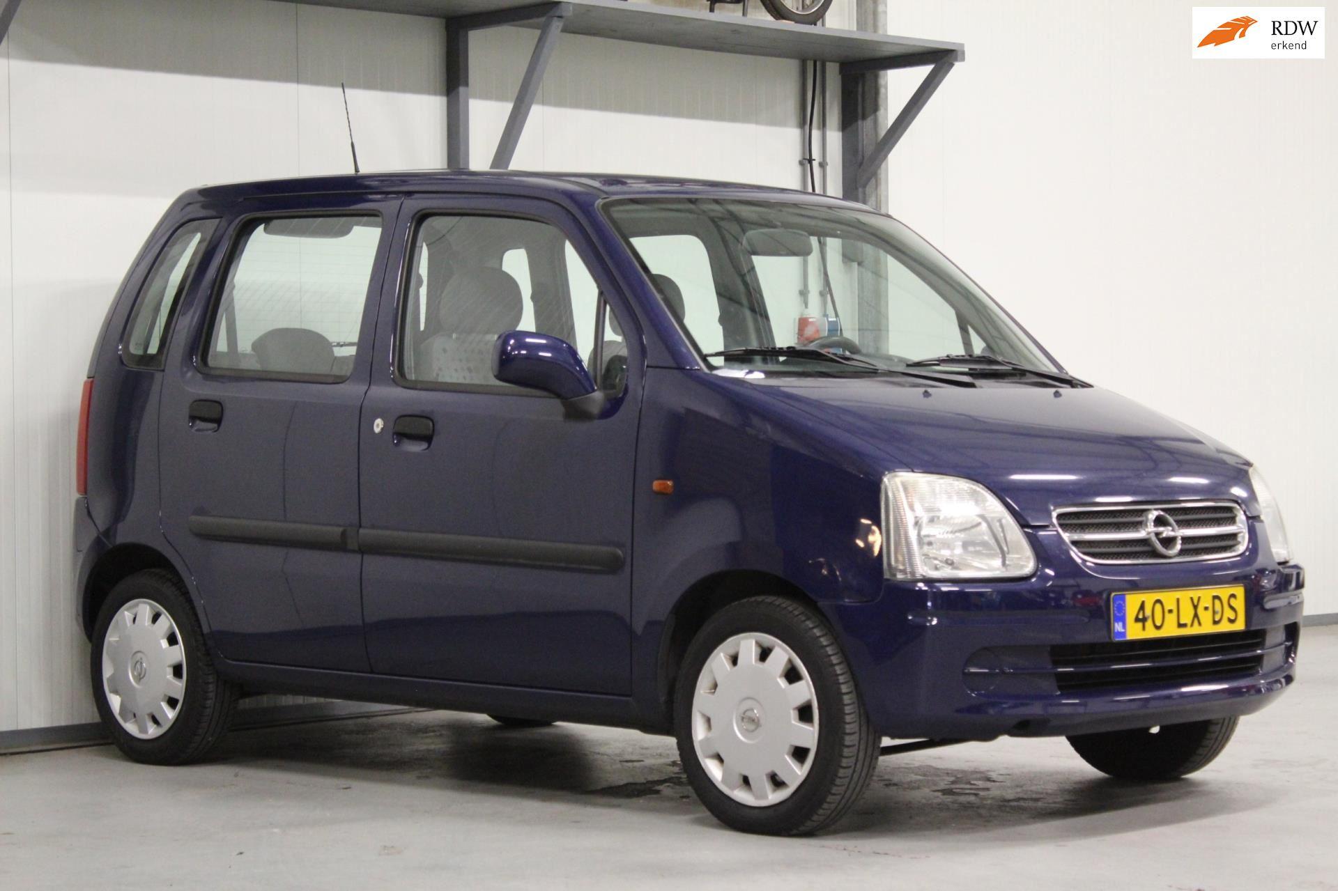 Opel Agila occasion - Gerrit Vos Auto's