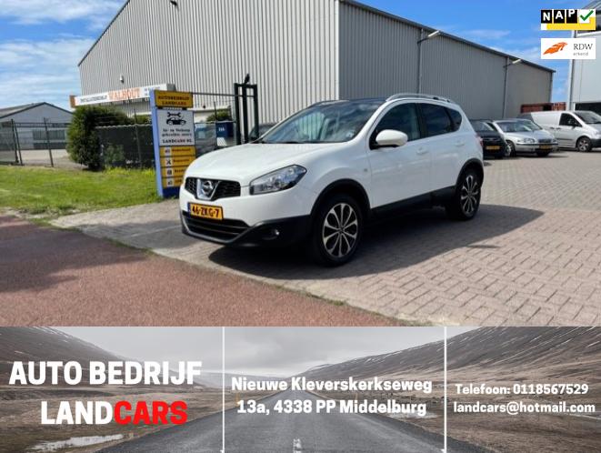 Nissan Qashqai occasion - Land Cars Middelburg