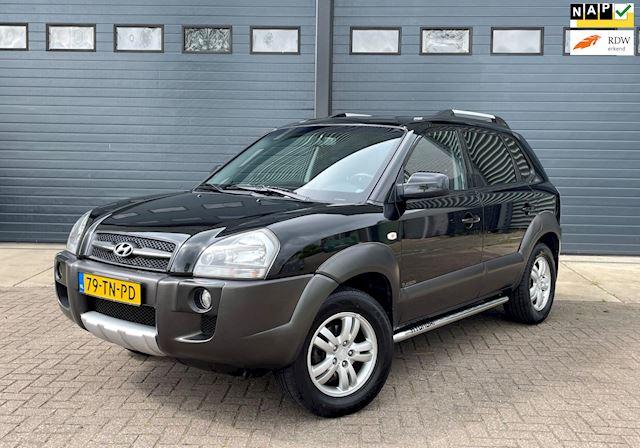 Hyundai Tucson 2.0i Dynamic Cross 2WD 2006 Zwart AIRCO*2E EIG.