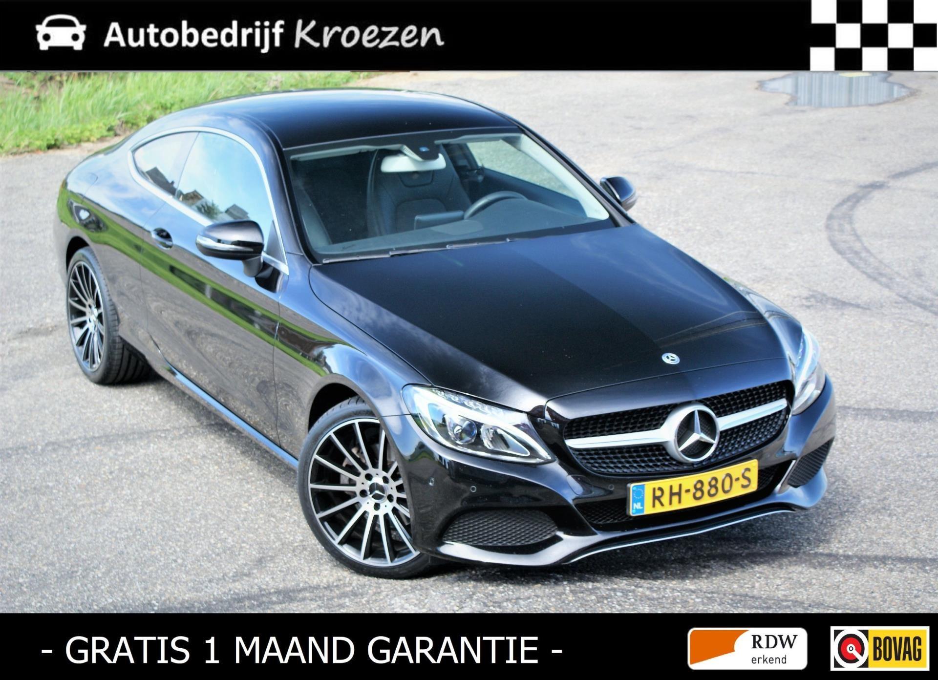 Mercedes-Benz C-klasse Coupé occasion - Autobedrijf Kroezen