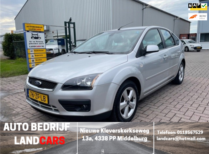 Ford Focus occasion - Land Cars Middelburg