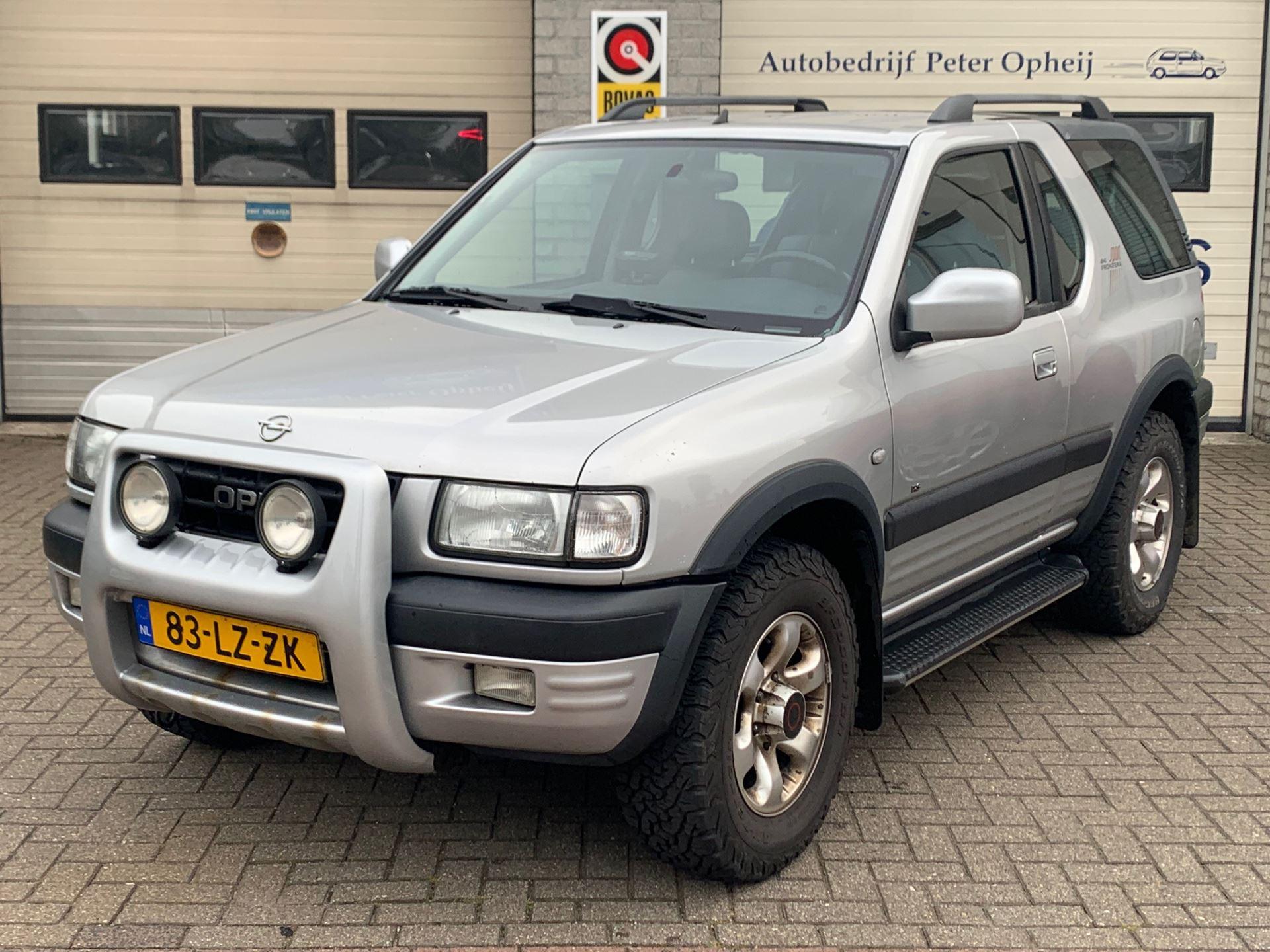 Opel Frontera occasion - Autobedrijf Peter Opheij
