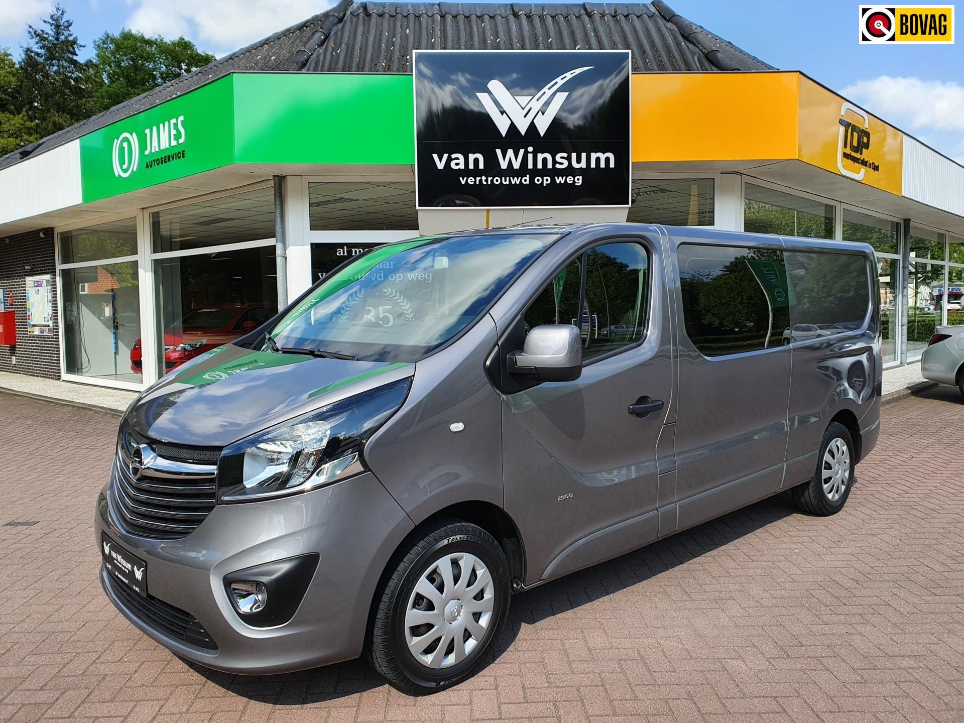 Opel Vivaro occasion - Autobedrijf G. Van Winsum B.V.