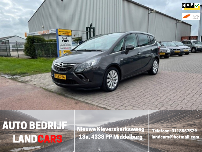 Opel Zafira Tourer occasion - Land Cars Middelburg