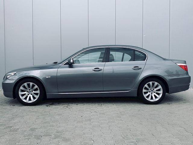 BMW 5-serie 523i, facelift, 6 bak, motor draait niet