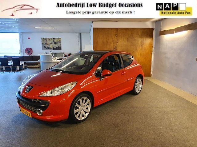 Peugeot 207 1.6-16V Turbo Féline,Apk Nieuw,2e eigenaar,Cruise,Clima,Panodak,Leder,Lm velgen,N.A.P,Super Nette staat!!