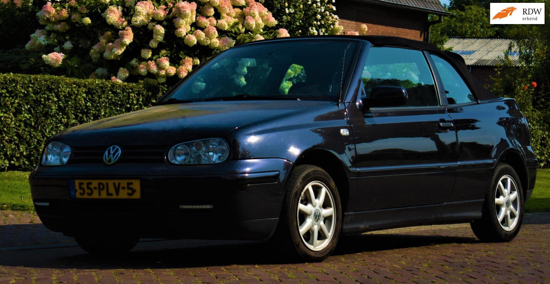 Volkswagen Golf Cabriolet occasion - F. Klomp Auto's