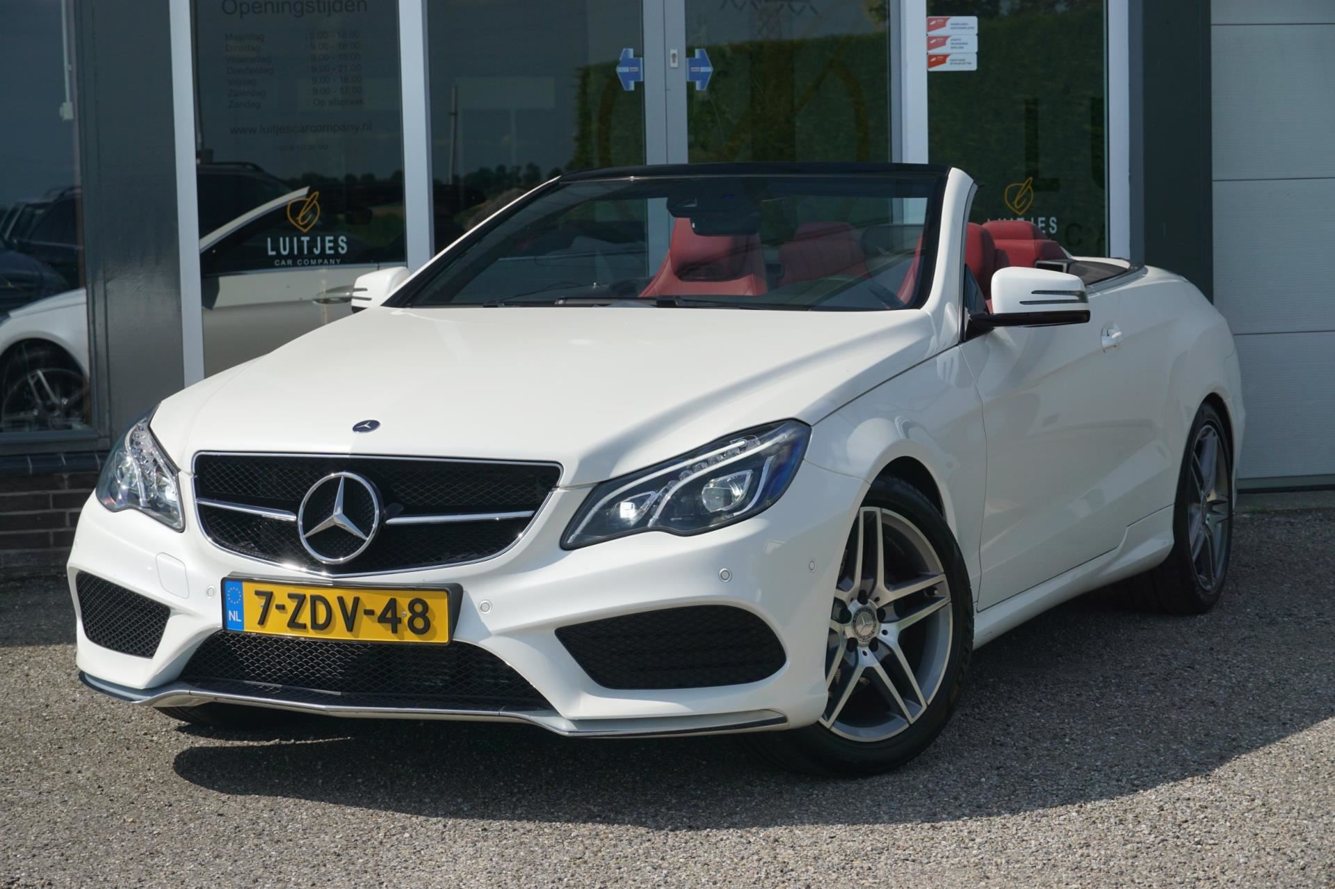 Mercedes-Benz E-klasse Cabrio occasion - Luitjes Car Company