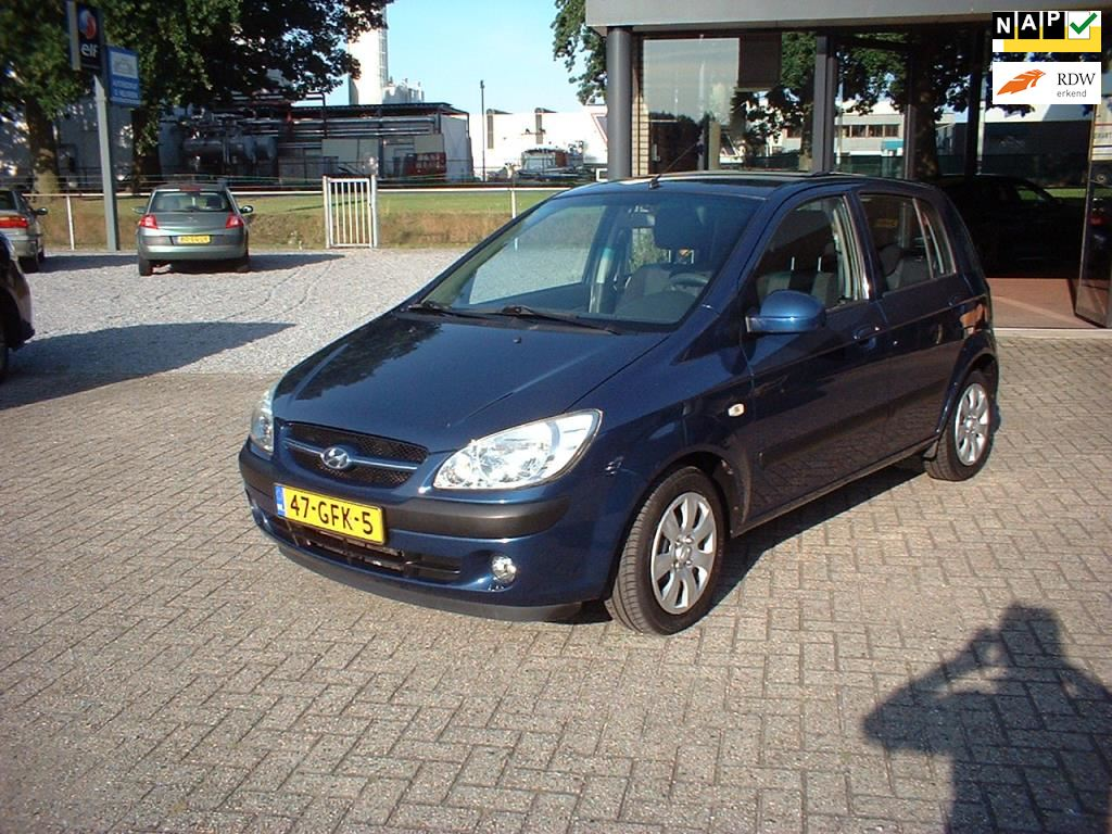 Hyundai Getz occasion - Autobedrijf G.Nelissen v.o.f.