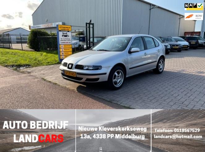 Seat Leon occasion - Land Cars Middelburg