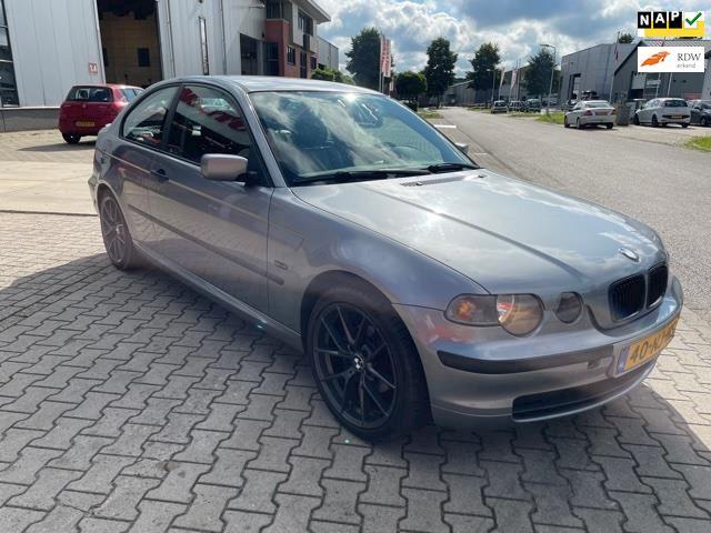 BMW 3-serie Compact 318td Comfort Line/leer/navigatie/18.inc /l zeer mooi auto