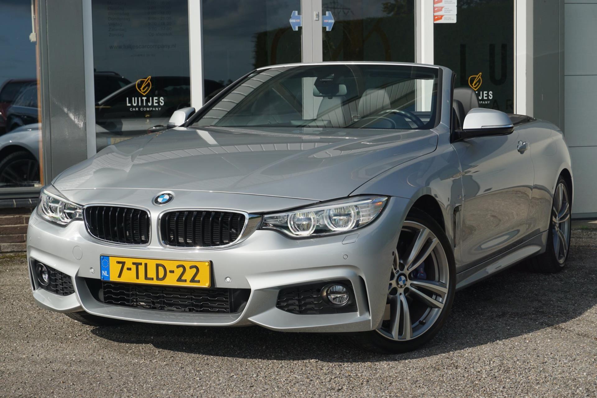 BMW 4-serie Cabrio occasion - Luitjes Car Company