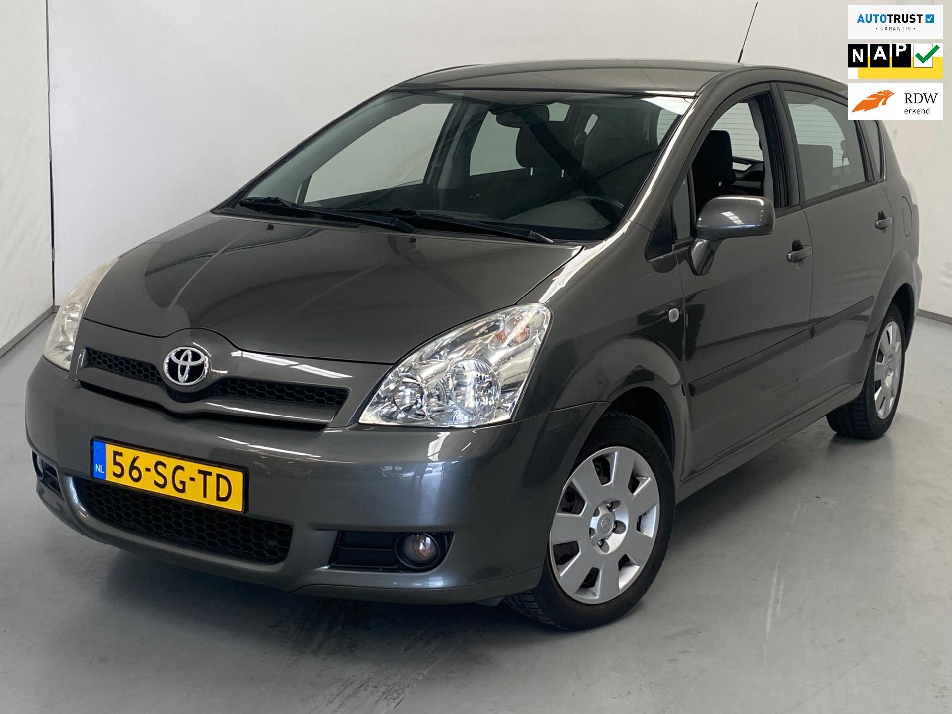 Toyota Verso occasion - Van den Brink Auto's