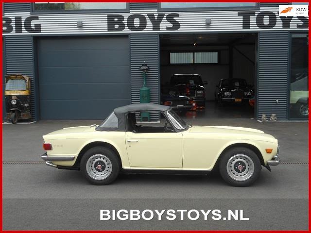Triumph TR6 occasion - Big Boys Toys B.V.