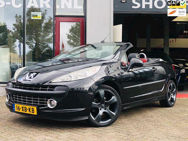 Peugeot 207 CC 1.6 VTi Première Cabrio 122Dkm NAP, Vol Leder, Zwarte Velgen, Tosptaat!!