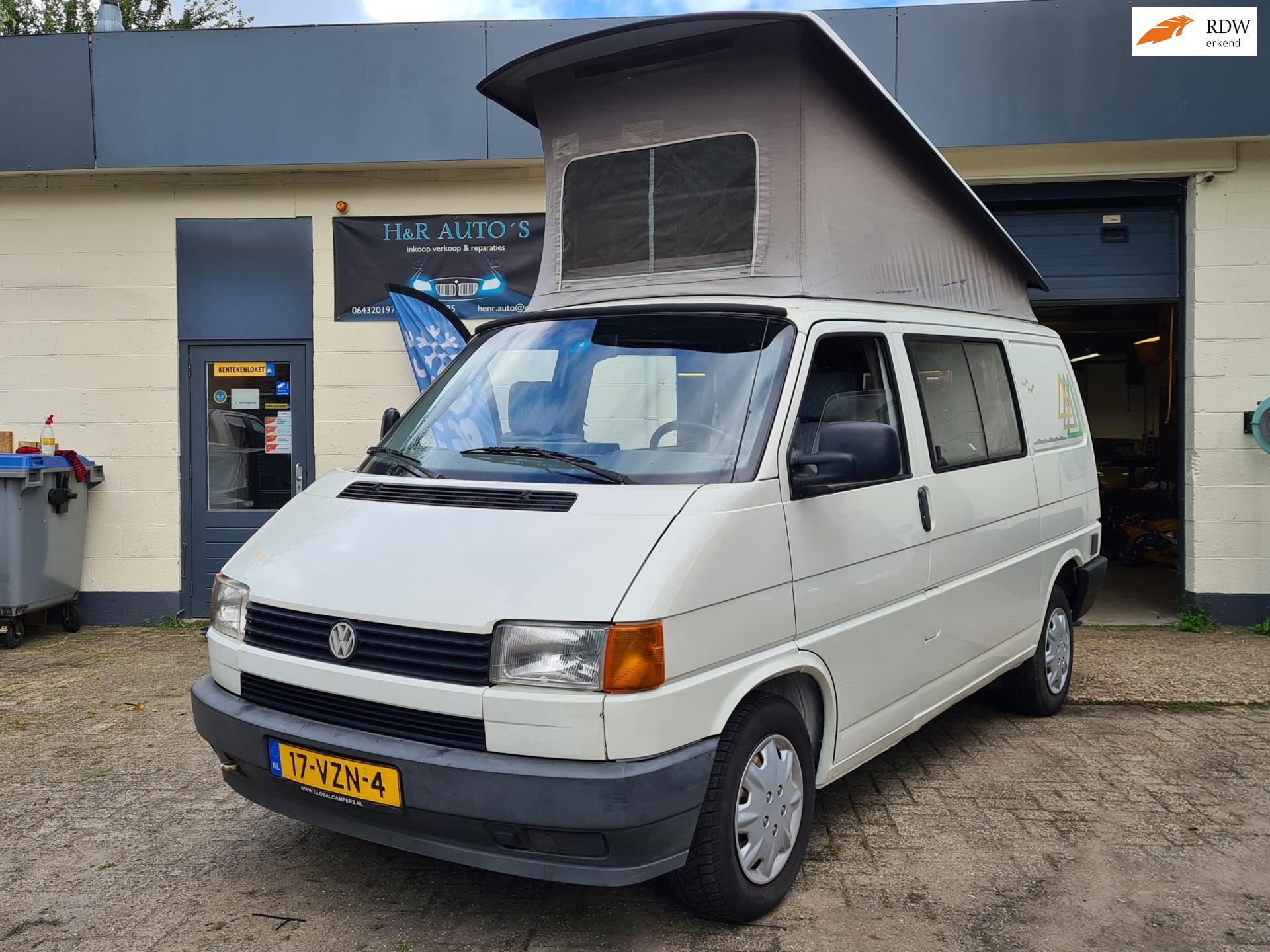 Volkswagen T4 2.4D Westfalia BUSCAMPER occasion - Van Krieken Auto's
