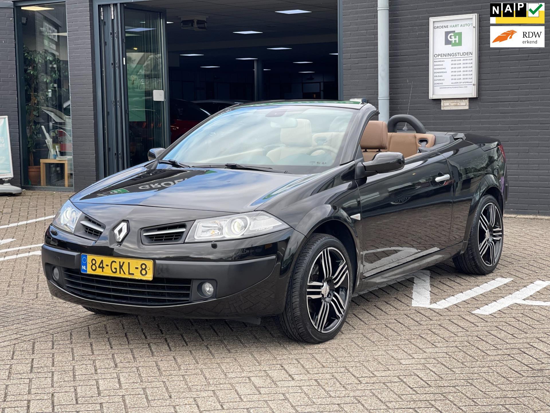 Renault Mégane coupé cabriolet occasion - Groene Hart Auto's