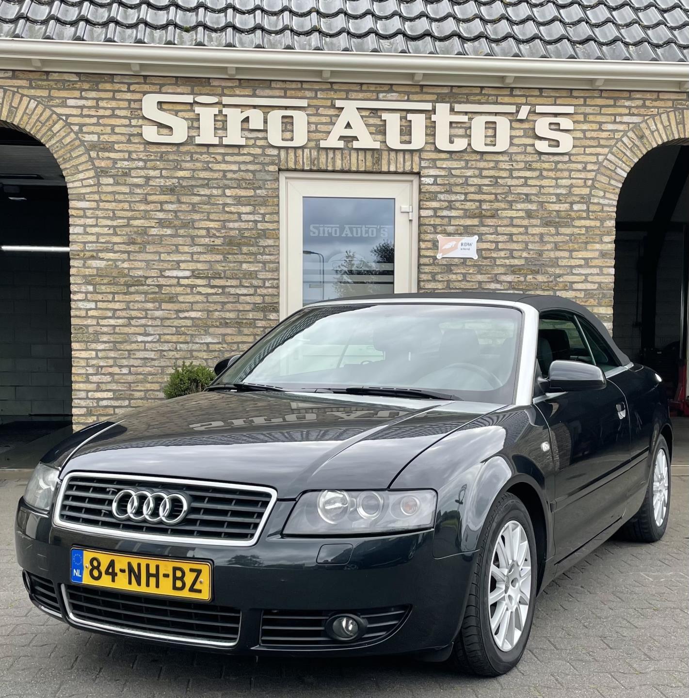 Audi A4 Cabriolet occasion - Siro Auto's