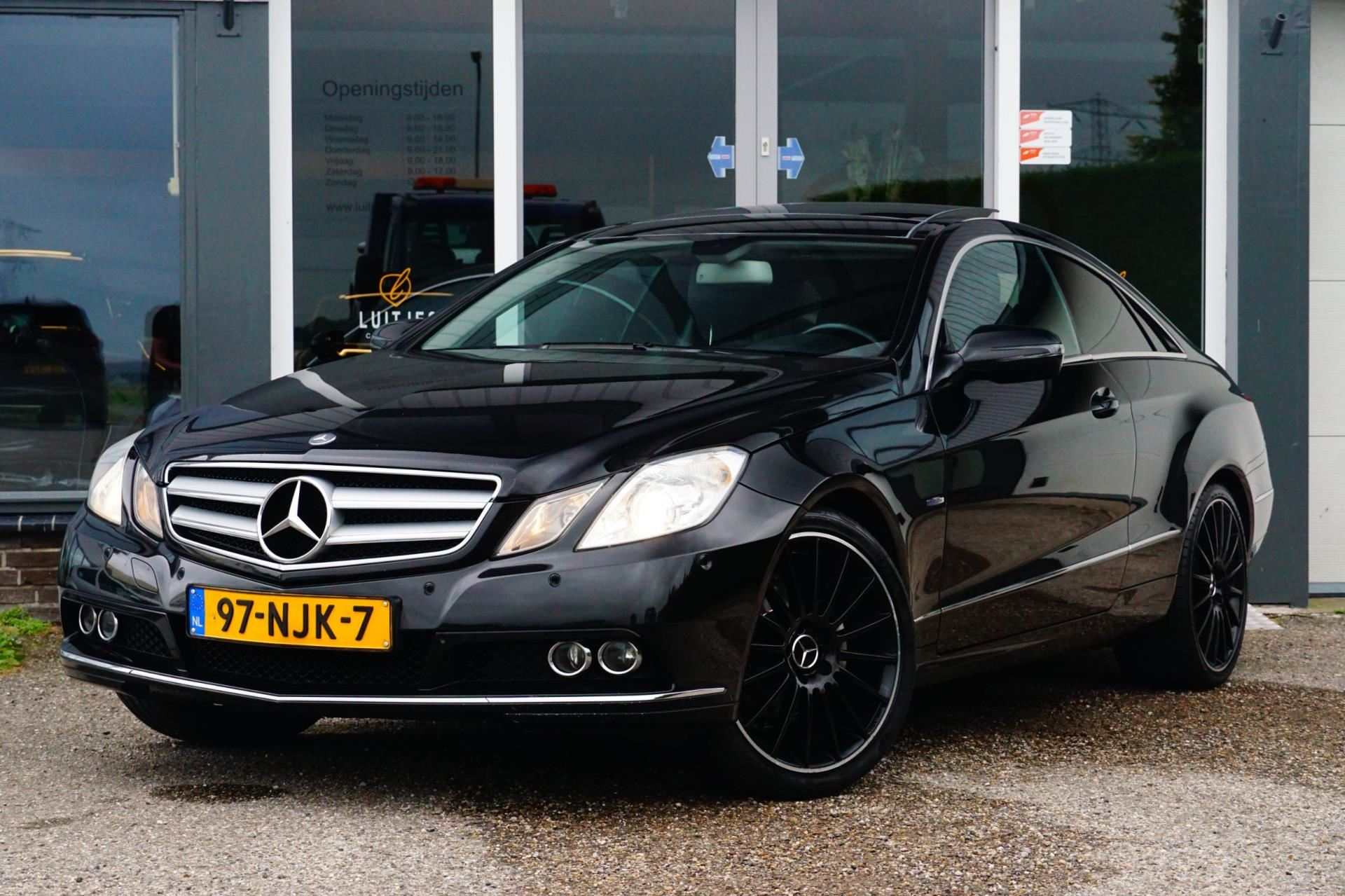Mercedes-Benz E-klasse Coupé occasion - Luitjes Car Company