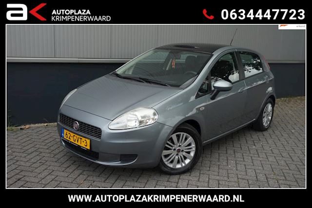 Fiat Grande Punto 1.4-16V Ed. Lusso Panoramadak/Airco/Cruise/Nieuw Apk