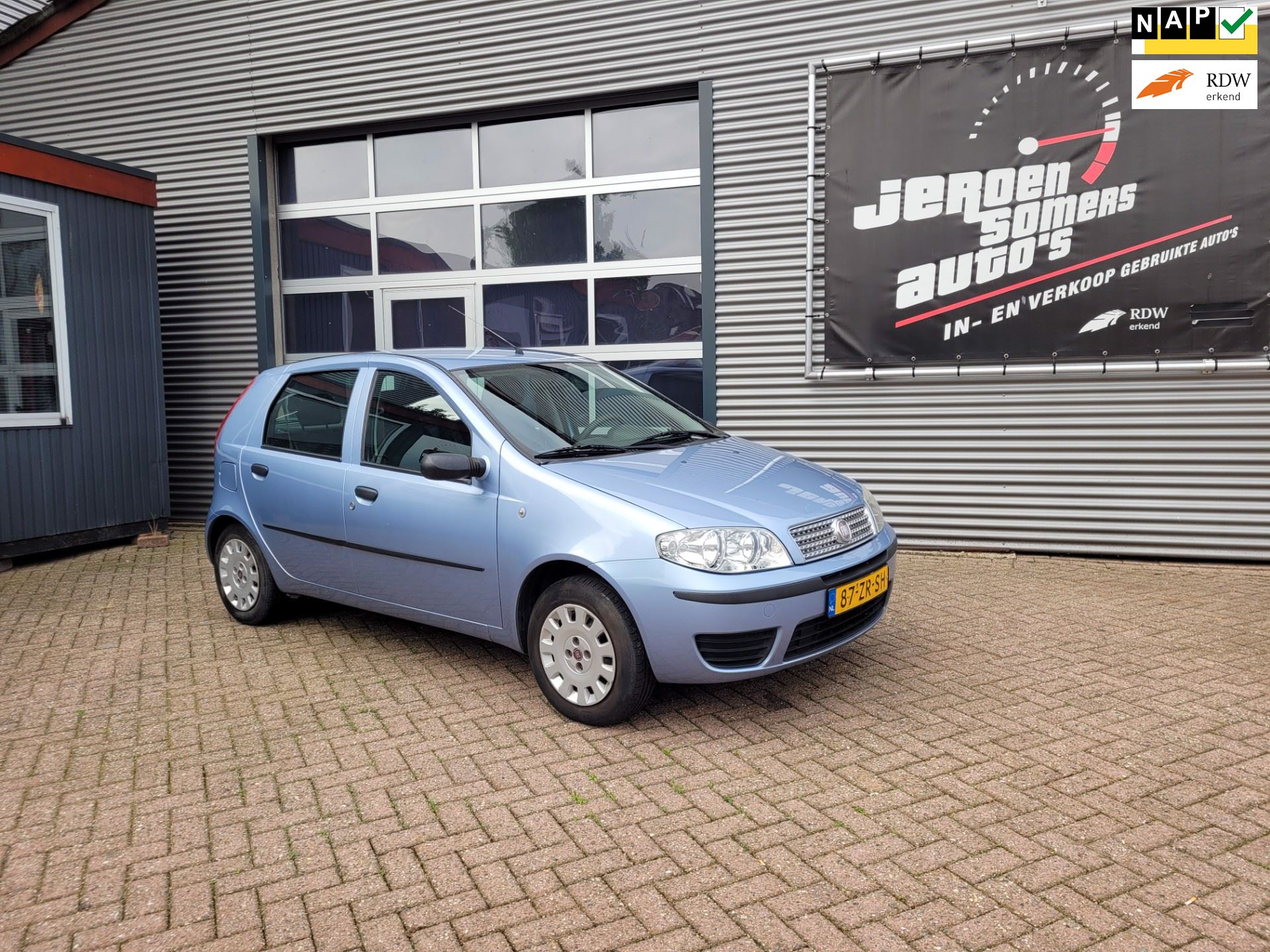 Fiat Punto occasion - Jeroen Somers Auto´s