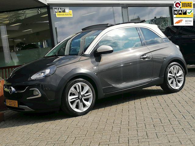 Opel ADAM 1.0 Turbo Rocks Cabrio (LEDER CLIMATE CRUISE EL-LINNENKAP 17INCH BICOLOR 79DKM!!)