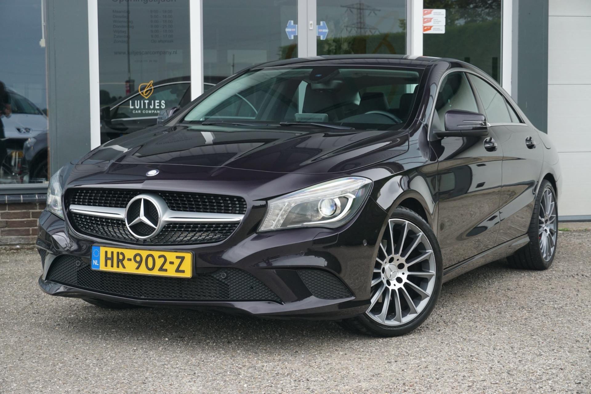 Mercedes-Benz CLA-klasse occasion - Luitjes Car Company