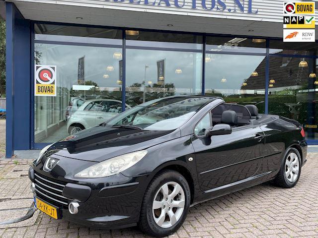 Peugeot 307 CC 2.0-16V Leer Clima Trekhaak Parksens. Stoelverw. Nwe APK Dealeronderhouden!