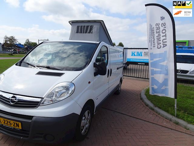 Opel VIVARO-2 2.0CDTI/84KW-E4 2.9T L2H1 basic buscamper euro vijf word kwarttarief klaar geleverd