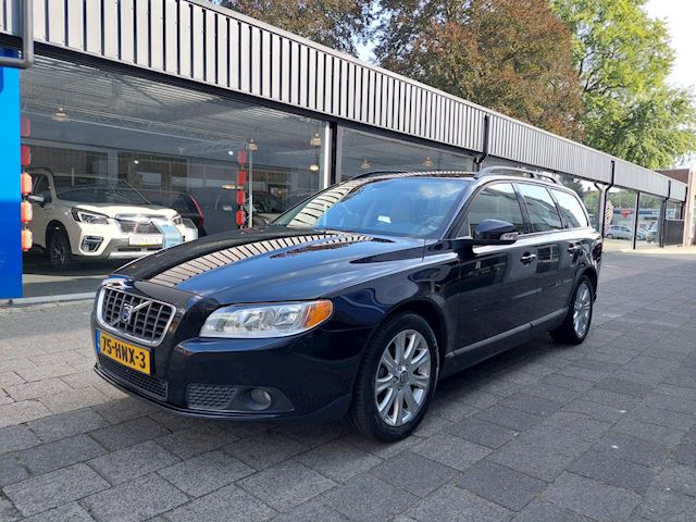 Volvo V70 2.4D Goed oh/Navi/Clima/Telefoon/Cruise/PDC/ Automaat/Leer/17 inch