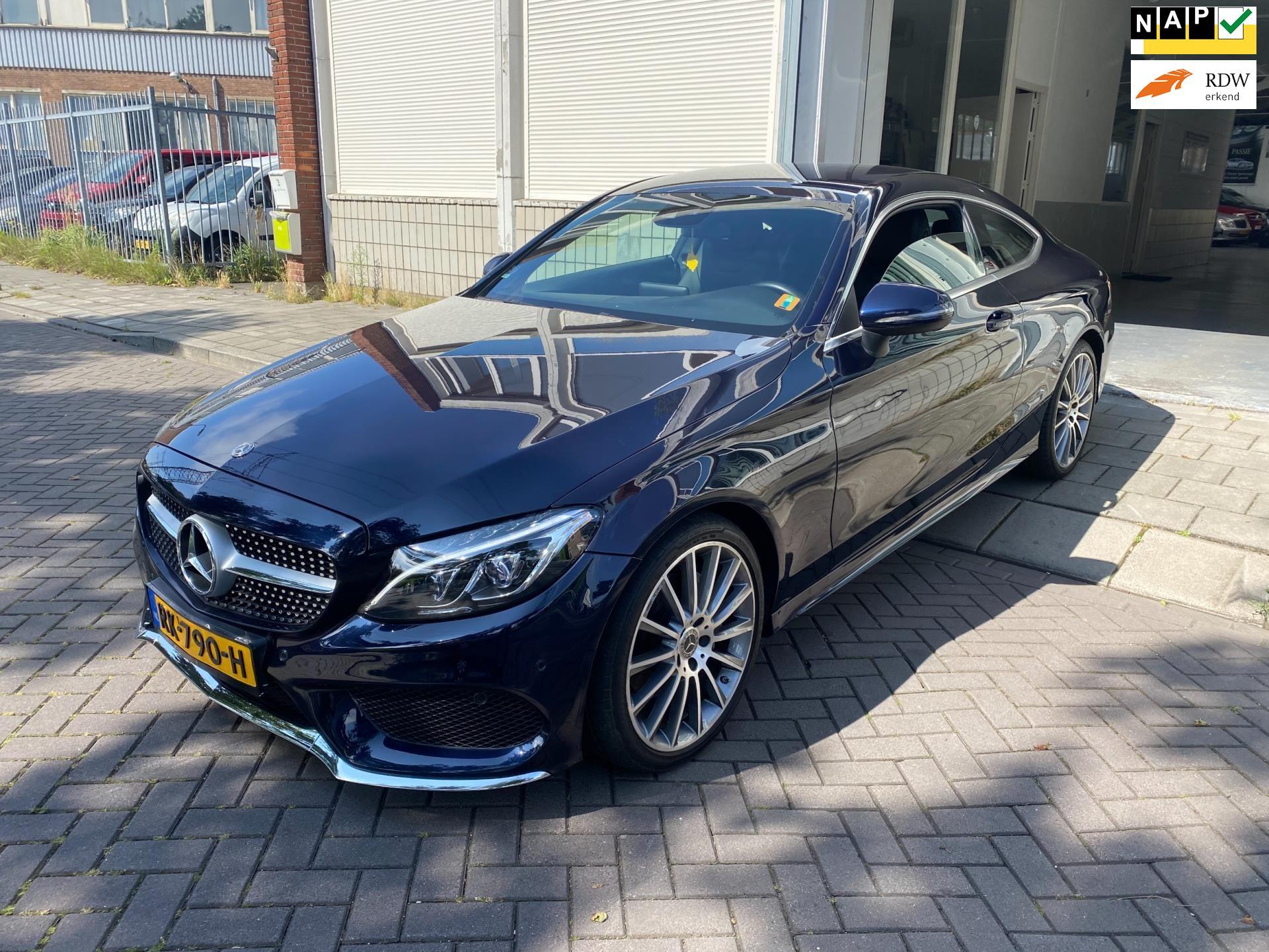 Mercedes-Benz C-klasse Coupé occasion - Autogarage Famillia
