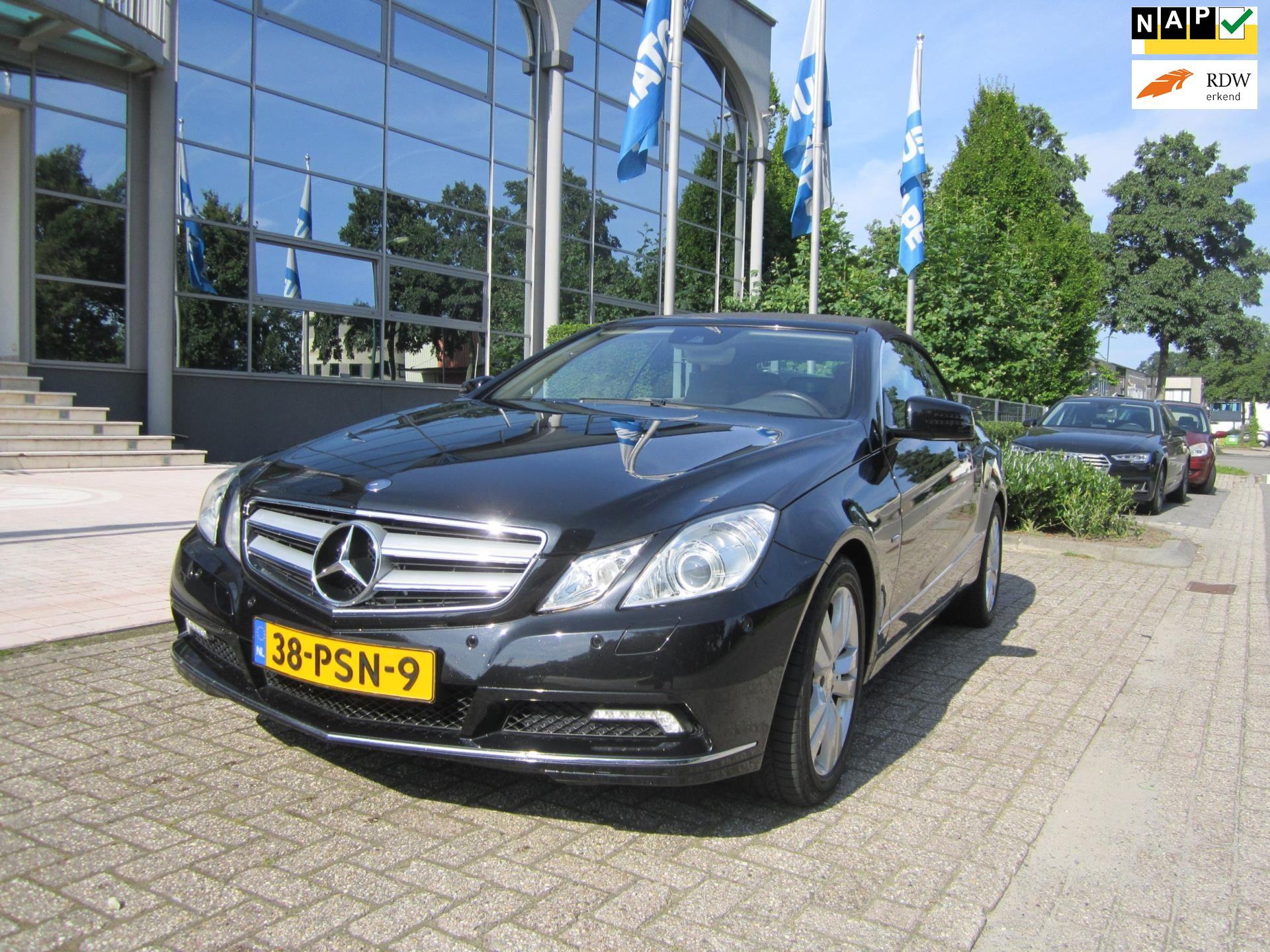 Mercedes-Benz E-klasse Cabrio occasion - HG Auto's