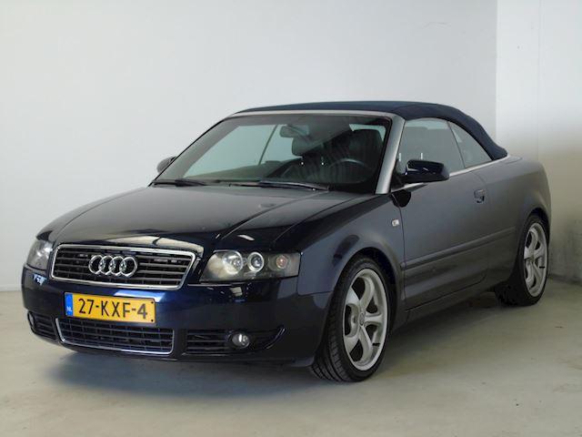 Audi A4 Cabriolet occasion - van Dijk auto's