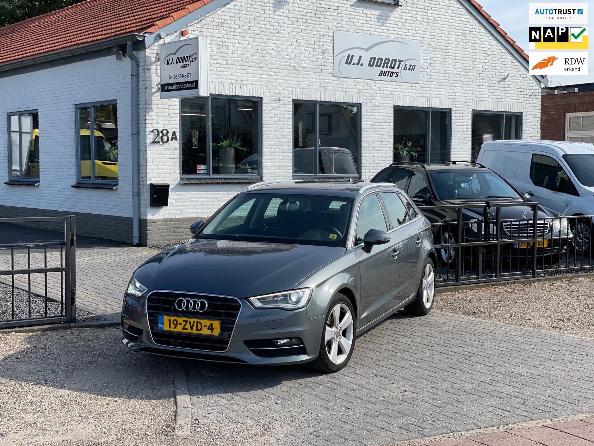 Audi A3 Sportback occasion - U.J. Oordt Auto's