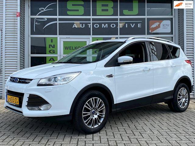 Ford Kuga 1.6 Titanium Plus 4WD|AUTOMAAT|CRUISE|AIRCO|BLUETOOTH|SPRAAK|AUX|USB|