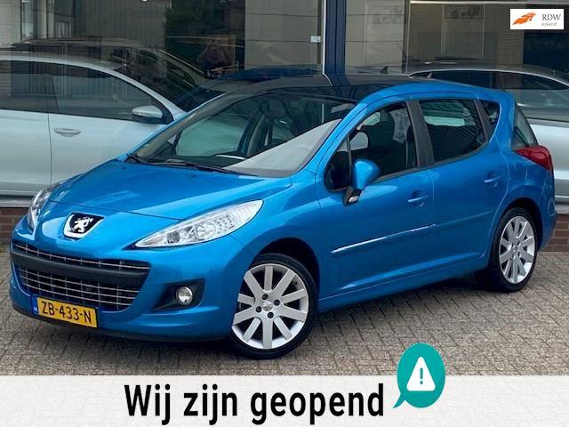 Peugeot 207 SW 1.4 VTi Allure! Panorama/Airco/Afneembaar trekhaak/LM velgen/Elek pakket! Topstaat/2e eigenaar!