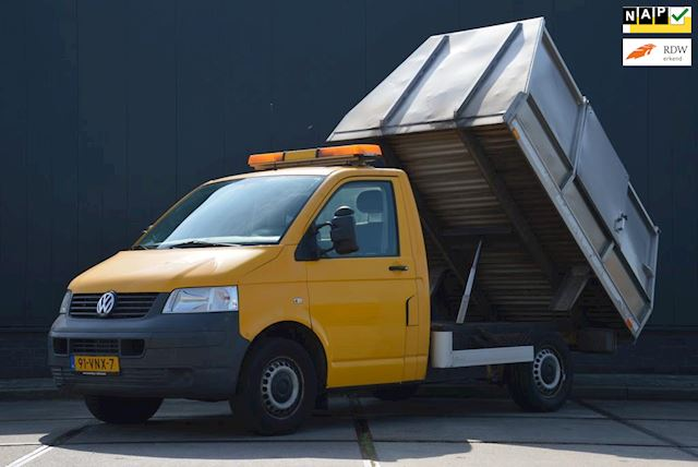 Volkswagen Transporter 2.5 TDI 131 Pk Euro 4 Kipper Containersysteem Automaat Airco.